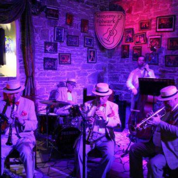 New Market Jazz Band Muzyczny Folwark Stara Winiarnia Mszana Dolna