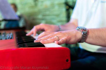 Szczepan Sollich i Elvis'56 koncert Muzyczny Folwark Stara Winiarnia Mszana Dolna